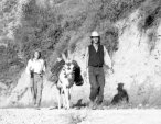 1987 - traveling from Sevilla to Granada with Mariët Meester and a donkey called Sevillana - Jaap de Ruig